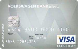 karta dokonta Volkswagen Bank