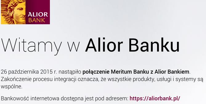 Alior Bank iMeritum Bank