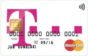 Karta dokonta T-Mobile Usługi Bankowe