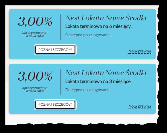 Nest Bank lokata