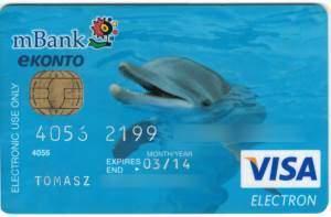 karta mbank delfinek