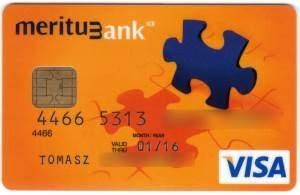 karta bankowa meritum bank