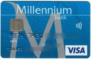 karta banku millennium