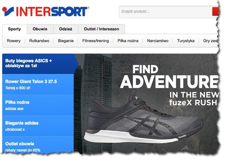 inteligo intersport