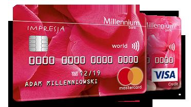 Karta Kredytowa Millennium Impresja
