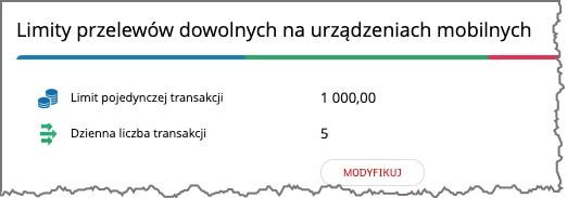 limit przelewu mbank aplikacja mobilna