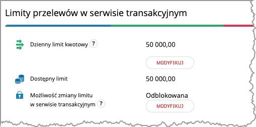 limit przelewu mbank