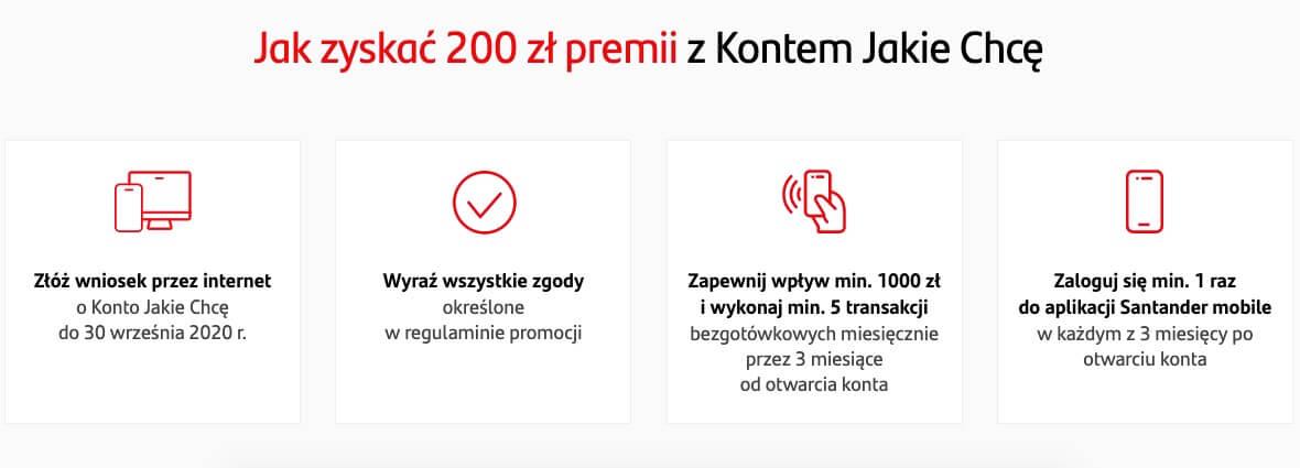 Santander promocja